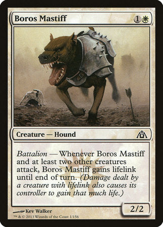 Boros Mastiff [Dragon's Maze] | The Garage: Games & Geekery
