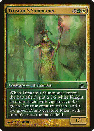 Trostani's Summoner [Dragon's Maze Promos] | The Garage: Games & Geekery