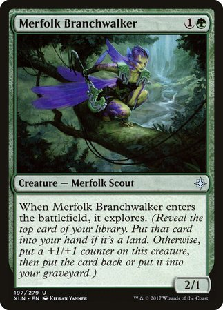 Merfolk Branchwalker [Ixalan] | The Garage: Games & Geekery