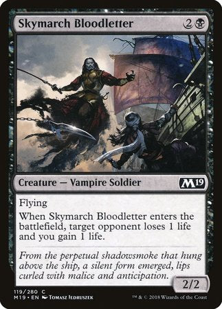 Skymarch Bloodletter [Core Set 2019] | The Garage: Games & Geekery