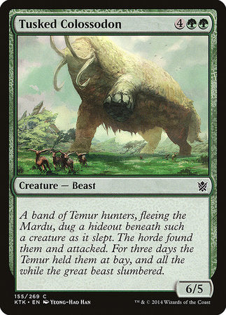Tusked Colossodon [Khans of Tarkir] | The Garage: Games & Geekery