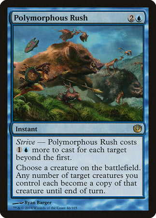 Polymorphous Rush [Journey into Nyx] | The Garage: Games & Geekery