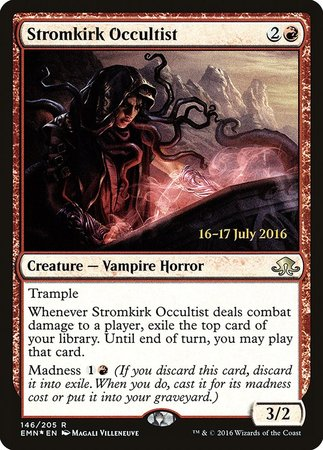Stromkirk Occultist [Eldritch Moon Promos] | The Garage: Games & Geekery