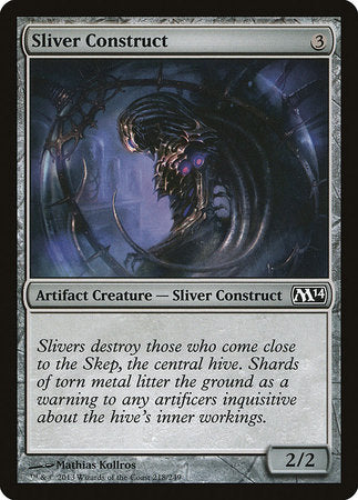 Sliver Construct [Magic 2014] | The Garage: Games & Geekery