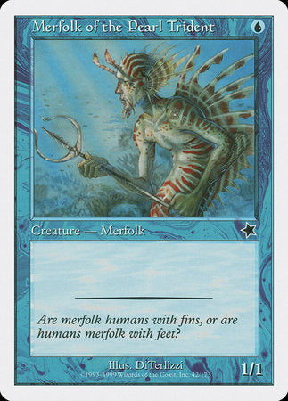 Merfolk of the Pearl Trident [Starter 1999] | The Garage: Games & Geekery