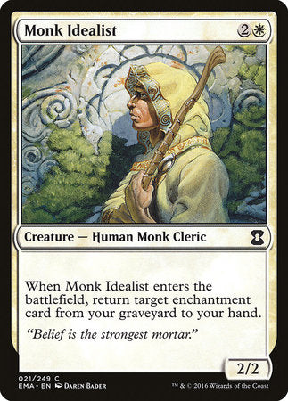 Monk Idealist [Eternal Masters] | The Garage: Games & Geekery