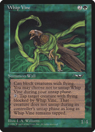 Whip Vine (Ensnared Bird) [Alliances] | The Garage: Games & Geekery