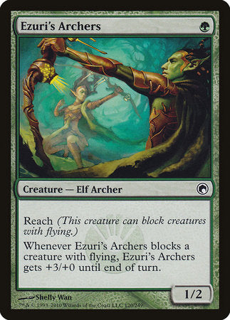 Ezuri's Archers [Scars of Mirrodin] | The Garage: Games & Geekery