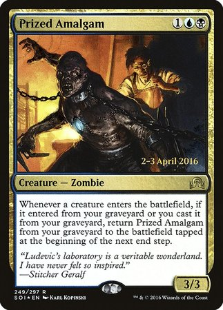 Prized Amalgam [Shadows over Innistrad Promos] | The Garage: Games & Geekery