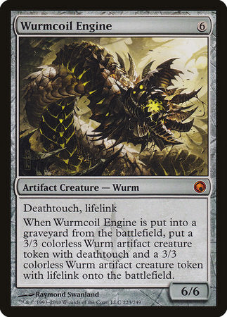 Wurmcoil Engine [Scars of Mirrodin] | The Garage: Games & Geekery