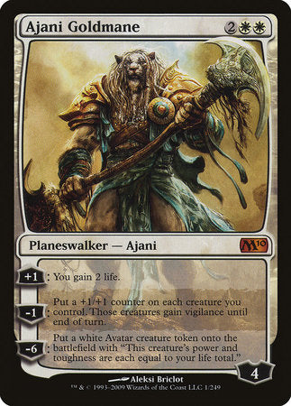 Ajani Goldmane [Magic 2010] | The Garage: Games & Geekery