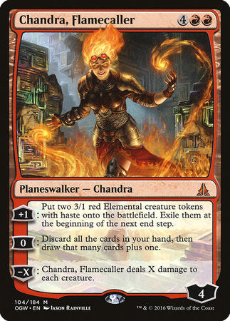 Chandra, Flamecaller [Oath of the Gatewatch] | The Garage: Games & Geekery