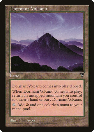 Dormant Volcano [Visions] | The Garage: Games & Geekery