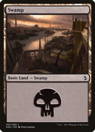 Swamp (263) [Amonkhet] | The Garage: Games & Geekery