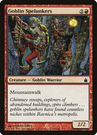 Goblin Spelunkers [Ravnica: City of Guilds] | The Garage: Games & Geekery