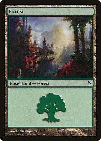 Forest (86) [Duel Decks: Jace vs. Vraska] | The Garage: Games & Geekery