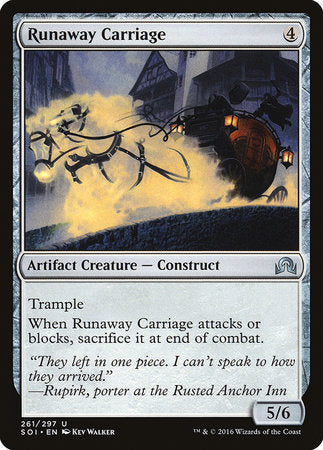 Runaway Carriage [Shadows over Innistrad] | The Garage: Games & Geekery