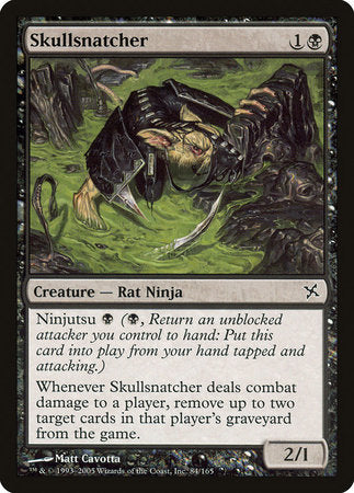 Skullsnatcher [Betrayers of Kamigawa] | The Garage: Games & Geekery