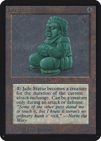 Jade Statue [Limited Edition Alpha] | The Garage: Games & Geekery