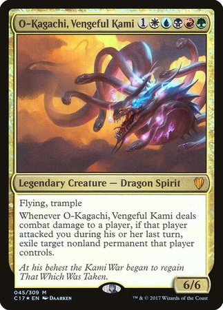O-Kagachi, Vengeful Kami [Commander 2017] | The Garage: Games & Geekery