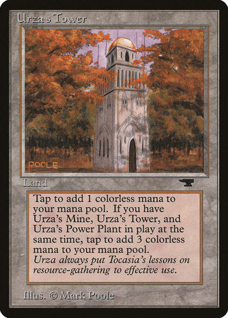 Urza's Tower (Forest) [Antiquities] | The Garage: Games & Geekery