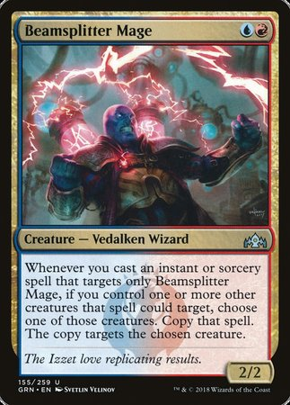 Beamsplitter Mage [Guilds of Ravnica] | The Garage: Games & Geekery