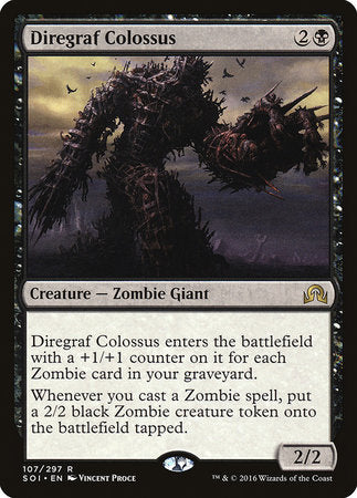 Diregraf Colossus [Shadows over Innistrad] | The Garage: Games & Geekery