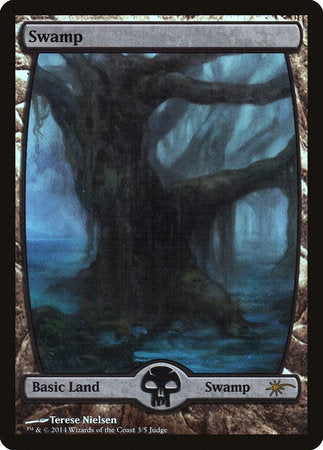 Swamp - Full Art [Judge Gift Cards 2014] | The Garage: Games & Geekery