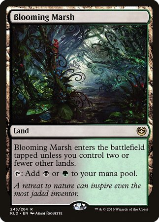 Blooming Marsh [Kaladesh] | The Garage: Games & Geekery