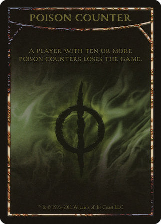 Poison Counter Token [Mirrodin Besieged Tokens] | The Garage: Games & Geekery