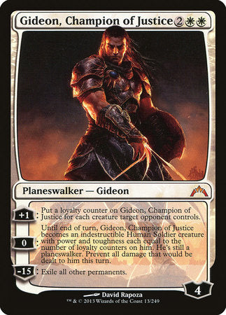 Gideon, Champion of Justice [Gatecrash] | The Garage: Games & Geekery