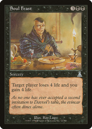 Soul Feast [Urza's Destiny] | The Garage: Games & Geekery