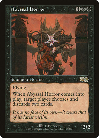 Abyssal Horror [Urza's Saga] | The Garage: Games & Geekery