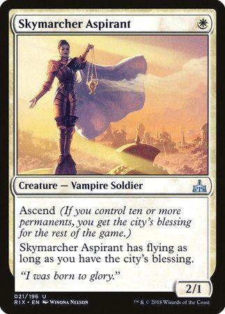 Skymarcher Aspirant [Rivals of Ixalan] | The Garage: Games & Geekery
