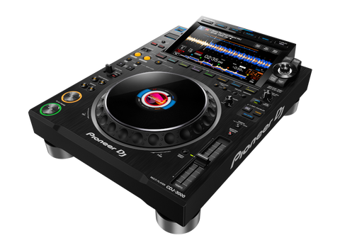 Pioneer CDJ-3000 House and Home or Club and Radio CD player released in 2020 for professional DJ use