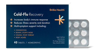 Homeopathic Cold-Fly Recovery Reduces Illness & Duration - Brillia Health