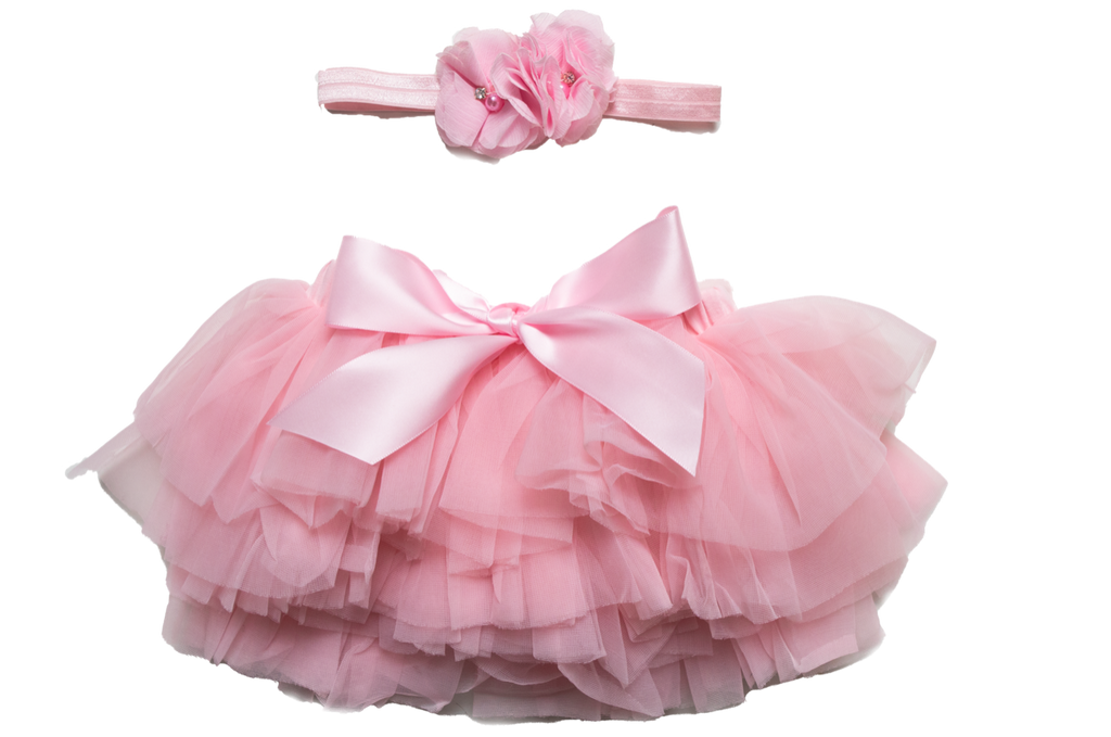 Adorable tutu and headband set for newborn photography