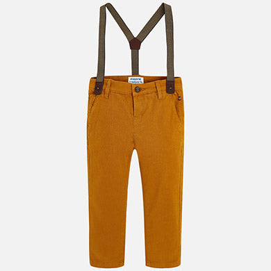 Chinos with Suspenders