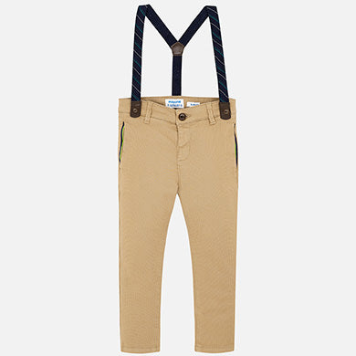 Pique Maple Trousers w/Suspenders