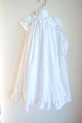 Christening Gown Eyelet