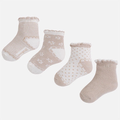Wavy Edged Socks