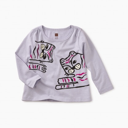 Tiger Time Graphic Baby Tee
