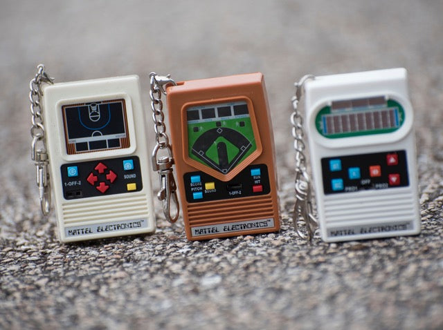 Worlds Smallest Mattel Electronic Games