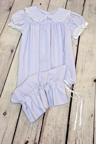 Lavender Sack Dress