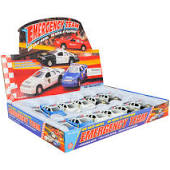 Pull Back DieCast Police Car