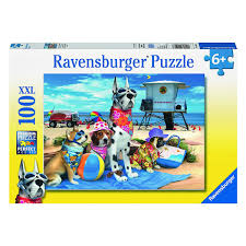Beach Dogs Puzzle