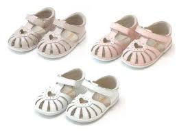Emmie Baby Sandal (White)