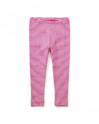 Fuchsia Striped Baby Leggings