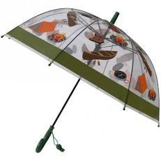 Camping Print Umbrella w/Safety Whistle