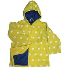 Yellow Dot Rain Coat